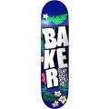 Baker Skateboard Deck, White Floral 8,125 Blue/White Bild 1