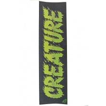 MOB Creature Comics black/green 9Zoll Skateboard Griptape Bild 1