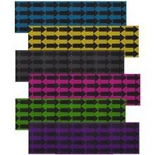 Enuff Skateboard Griptape Griffband,schwarz Blau Harrows Bild 1