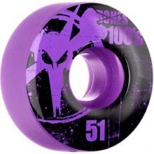 Bones Wheels 4 Skateboard Rollen lila 52mmx31mm Bild 1