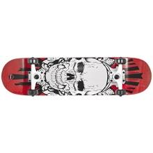 Choke Skateboard Skullhead, Mehrfarbig, 32.3X 8 zoll Bild 1