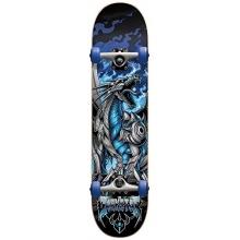 Darkstar Komplett Skateboard, 6,75 Drache blau Bild 1