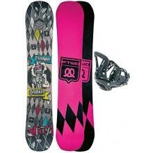 Herren Snowboard Set von F2 T-Ride 156W + Grate L 2015 Bild 1