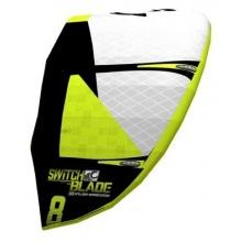 Cabrinha Kite Switchblade 6.0 kompl. weiß/gelb Bild 1