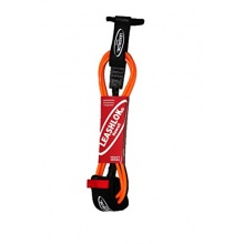 Leashlok Hawaii Leash Heavy-Serie, 8 mm orange 3 m Bild 1