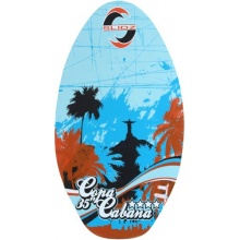 Slidz Uni skimboard Copa Cabana Blau Cyan/Navy 90 cm Bild 1