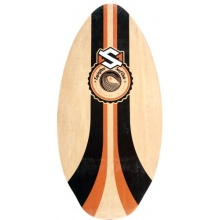 Skim One skimboard Encinitas Holz Orange orange 105cm Bild 1