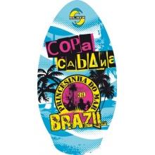 Slidz Uni skimboard Copa Cabana bunt Primary 100cm Bild 1