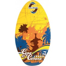 Skimboard by SLIDZ 90cm Copa Cabana Yellow/Brown Bild 1
