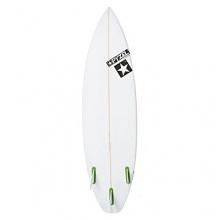 Pyzel Grunt Surfboard - White Bild 1