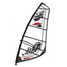 F2 Komplett Surf Segel RIDE Rigg 7 qm black/grey Bild 1