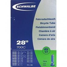 SCHWALBE Fahrradschlauch AV17 mit Autoventil 28 Zoll Bild 1