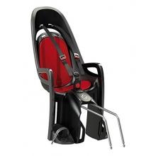 Hamax Zenith Fahrrad Kindersitz grau rot Bild 1