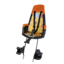 Bobike Fahrrad Kindersitz Hinten Maxi gelb blumen Bild 1