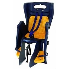 Kindersitz Gepäckträger dunkelblau  Bild 1