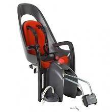 Hamax Fahrrad Kindersitz grau rot  Bild 1