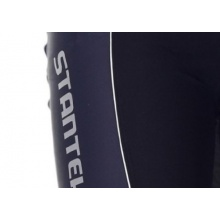 Stanteks Radlerhose Lang Sitzpolster XL schwarz grau Bild 1