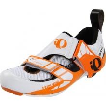 Pearl Izumi Tri Fly IV Carbon Radschuhe weiß orange Bild 1