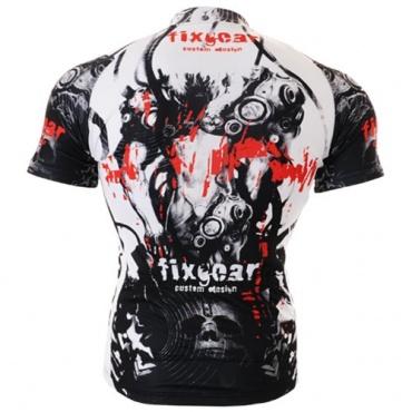 Fixgear Herren Bicycle Radtrikot Top schwarz Bild 1