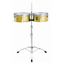 Meinl Percussion LC1BRASS Timbales Bild 1