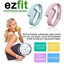 EzFit L Aktivitätstracker Armband Bluetooth 4.0 Grün  Bild 1