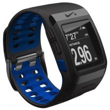 Nike+ GPS Laufuhr schwarz blaue Innenseite by TomTom Bild 1