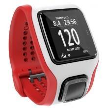 TomTom GPS Laufuhr Multisport Cardio rot weiß One size Bild 1