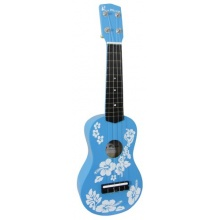 Blue Moon BU 01 Flower Ukulele Bild 1