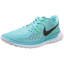 Nike Free 5.0 Damen Laufschuhe Türkis Aqua Bild 1