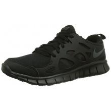 Nike Free Run 2 Unisex Kinder Laufschuhe Schwarz Bild 1