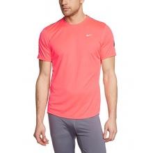 Nike Herren Laufshirt kurzarm Punch Grau Silber  Bild 1