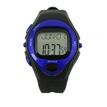 Foxnovo R022M Pulsuhr Wasserdicht Digital blau Bild 1