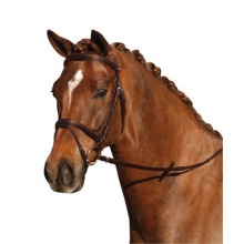 CAP Kombiniert Geschirr Softy Leder weich braun Pony Bild 1