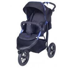 knorr-baby Baby Jogger Schlummerverdeck schwarz blau Bild 1
