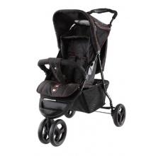 knorr-baby 3-Rad abayb Jogger Sporty S schwarz rot Bild 1