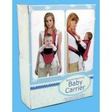 Babycentre Babybauchtrage rot schwarz Bild 1