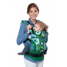 Wickelkinder Manduca Babybauchtrage CircadelicGrass Bild 1