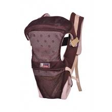 Tofern atmungsaktive Babyrückentrage Rucksack braun Bild 1