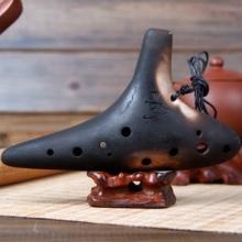 Qualitäts Keramisch Okarina Flöte Ocarina Instrument 12 Loch Bild 1