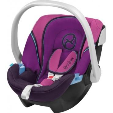 cybex aton babyschale gruppe 0 lila pink test. Black Bedroom Furniture Sets. Home Design Ideas