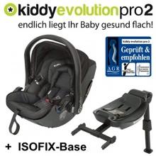 Kiddy Babyschale Evolution Pro 2 Isofix schwarz Bild 1