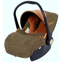 4baby Babyschale Autositz Deluxe Coffe inkl. Fußsack Bild 1