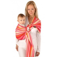 Womar Babytragetuch HUG ME rot orange Bild 1