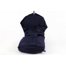 Dimo-Tex Fußsack für Kinderwagen Thermo navyblau Bild 1