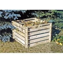 Steckkomposter Holz Kompostsilo Bild 1
