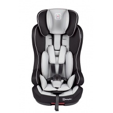 BabyGO Isofix Kinderautositz Gruppe 1/2/3 9-36kg grau Bild 1