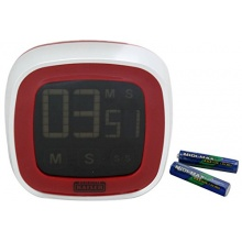 Kaiser Digitaler Küchentimer Touchscreen rot  Bild 1
