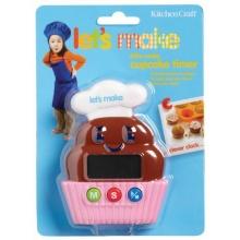 Kitchen Craft Lets Make Digitaler Küchentimer Cupcake Bild 1
