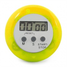 TOOGOO Digitaler Küchentimer Magnet LCD Stoppuhr  Gelb Bild 1