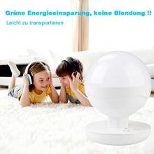 Deallink Wireless LED Nachtlicht mit Touch Sensor Weiß Bild 1